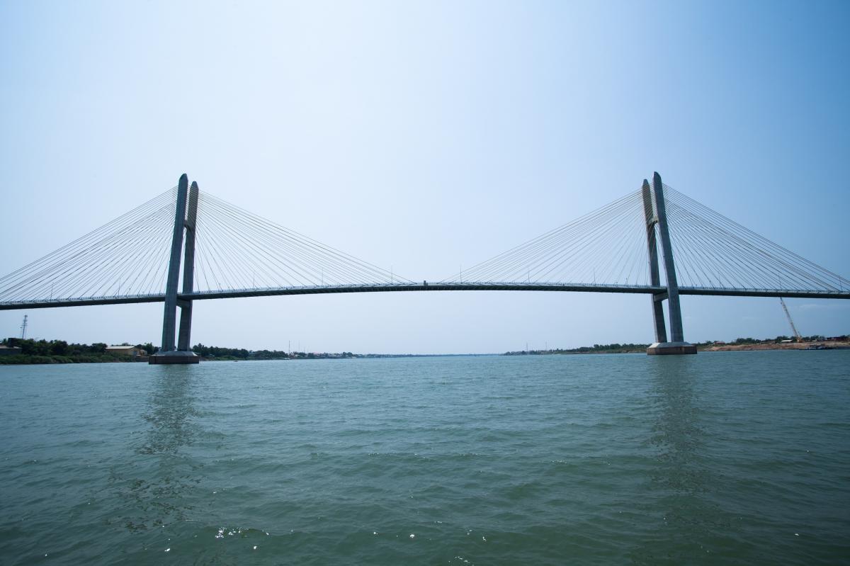 カンボジア】つばさ橋開通式―在...